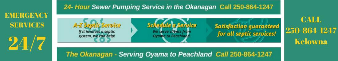 Septic Pumping Service | Okanagan 24/7 – Septic Sewer